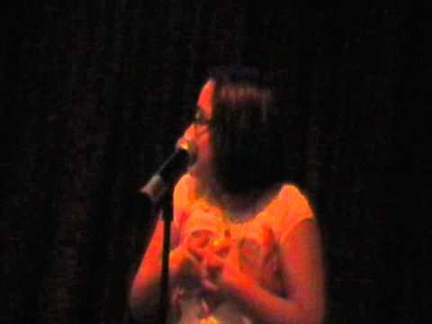 zoe alexa singing it will rain at hamburger marys in kc