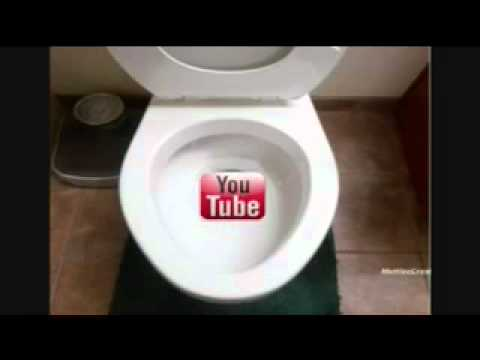 YouTube down to toilet 10 Hours