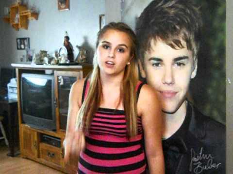 Justin Bieber-Girlfriend cover by Brianna Leighton