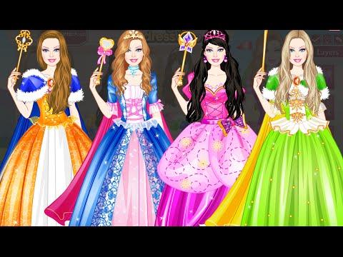 Barbie Diamonds - Princess Dress up Games