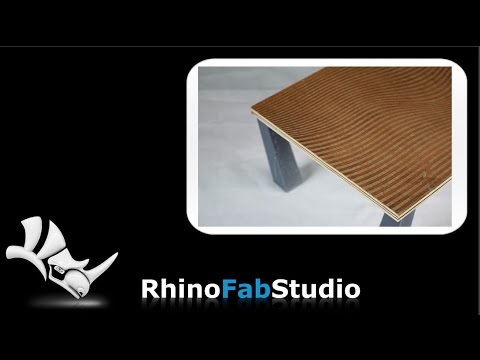 Dress It Up: Designing the Tabletop with Rhino and Grasshopper