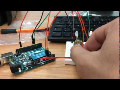 Arduino RhinoFabStudio UPB, Entrada analogica 2 led