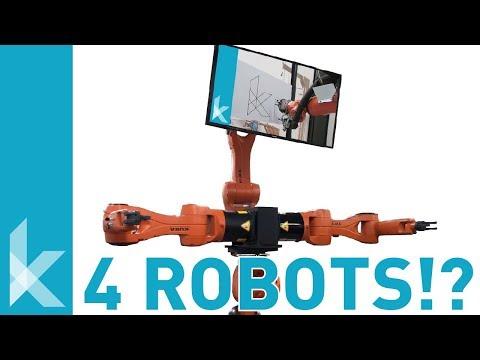 Multi-Robot Setup with KUKA PRC and Grasshopper - Tutorial