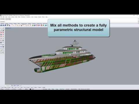 ExpressMarine - parametric marine structure modeling plug-in for Rhinoceros3D