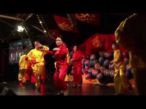 CEDP Chinese Centre 2015 Chinese New Year Event - Kongfu Fan