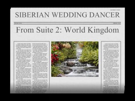Siberian Wedding Dancer