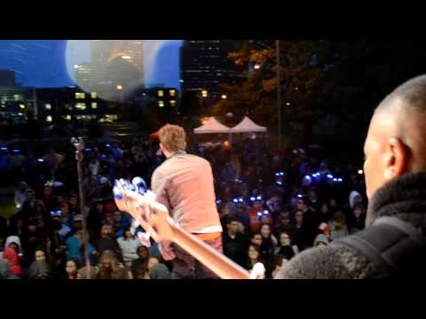 Lewis Hensley Live!! Lawrence Tech Homecoming 2011 w/Vanilla Ice & 3OH!3