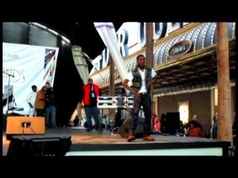 Jazz Biggs live @ Taste and Sound of Soul 2012 Las Vegas