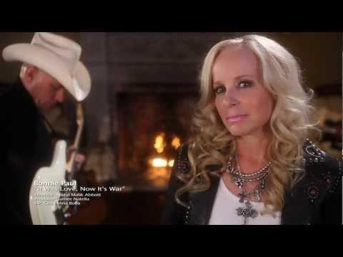 """Bonnie Paul """"It Was Love, Now It's War"""" (Official Music Video)"""