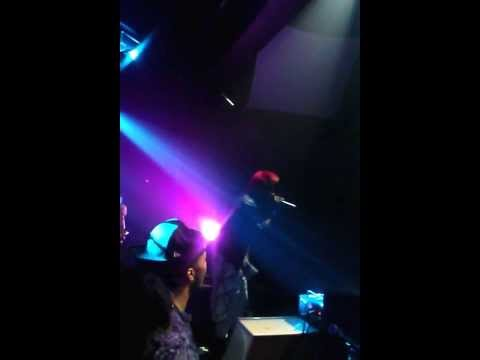 Crissanji opening up for Gyptian