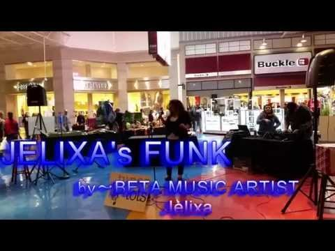 Jelixa Performing  At The Mall - Jelixa's Funk