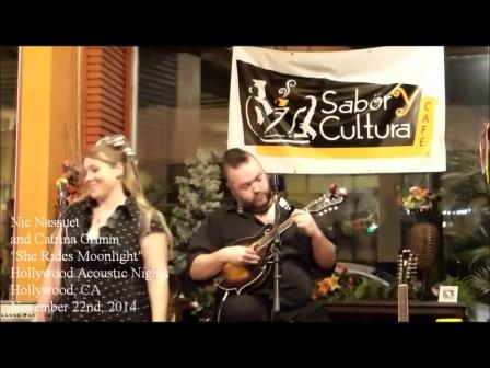 Nic Nassuet Feat. Catrina Grimm - She Rides Moonlight Live