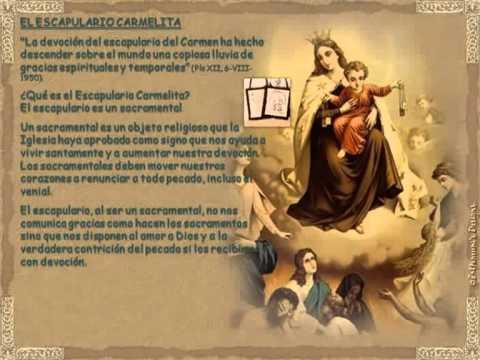 Nuestra Señora del Carmen Oración y Escapulario