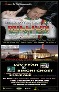 Reggae on the Bay Presents MILLION STYLEZ LIVE at CRANEWAY PAVILION