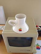 Vintage Apple Mugs