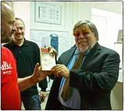 Woz in Moscow Apple Museum 10.10.13