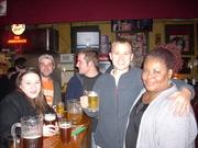 Miss Freddye and friends in Elkins, Wv