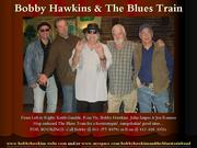 Bobby Hawkins & The Blues Train Flyer