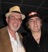 Mike with Gene Cornish