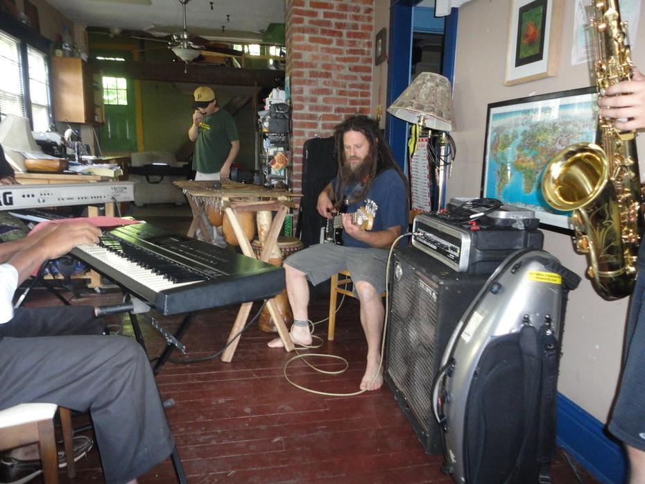 Bob Lampenfeld on bass