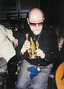 Eric Kloss checks out the trombetto