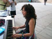 concert Lincoln Center Outdoors-Devorah Segall June 29,2011