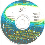 """Life In The City"" CD Label"