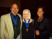 Michele, Kenny Blake, Sandra Dowe MCG Jazz Awards 2013