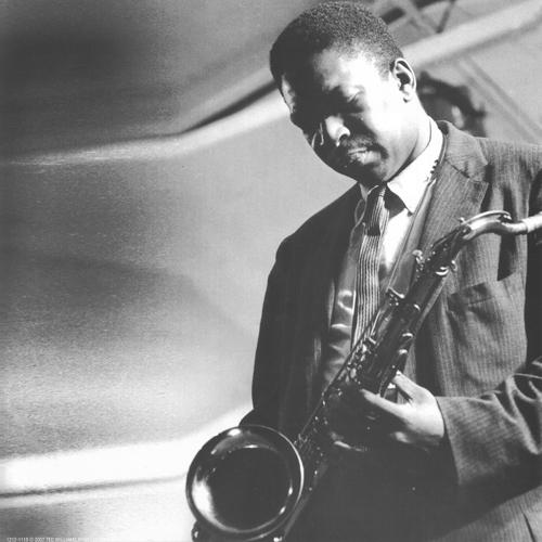 John Coletrane with Miles Davis Group
