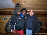 Rehearsing with Liupard Sband in Lumezzane,italy 2006'