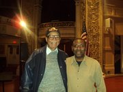 Me and George Cables