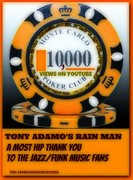 10,000 Views Rain Man/YouTube Tony Adamo