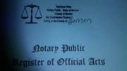 Our Notary Seals and Commission