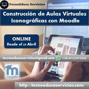 Construcción de Aulas Virtuales Iconográficas con Moodle