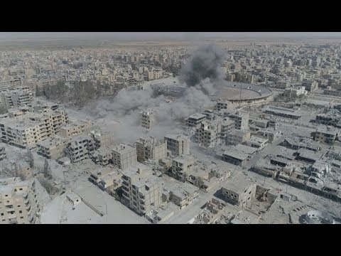 "A ""Death Trap"" in Raqqa: Amnesty Finds U.S.-Led Coalition Killed More Than 1,600 Syrian Civilians"