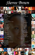Sherree Brown Discography_Page_1