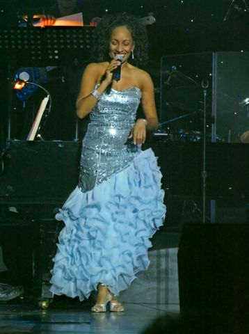 Gabrielle Shines in concert on the Seas!
