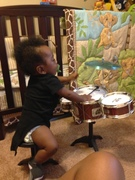 New Drummer On The Set!!