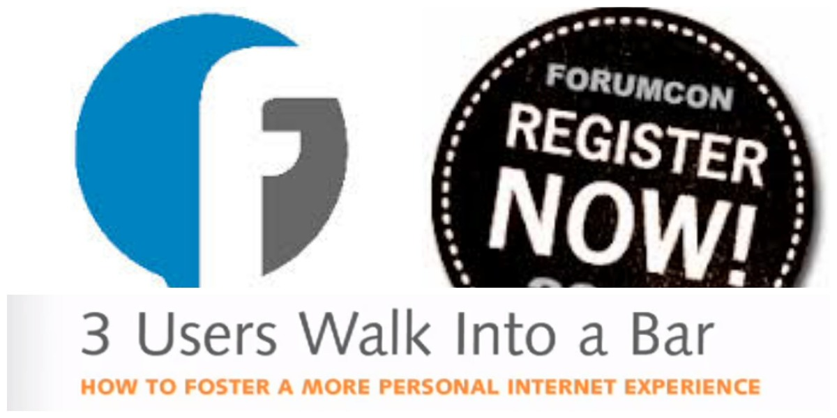 Tickets to ForumCon 2013: The Ultimate Event for Anyone Involved in Creating Communities
