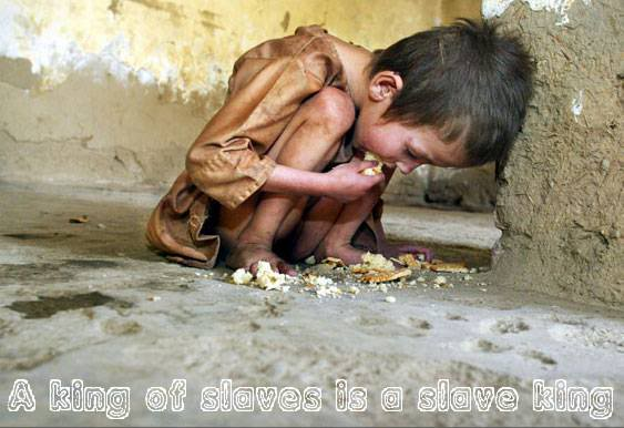 CASH4NEEDS$CAMPAIGN DESTROY POVERTY 20,000 DIE EACH DAY PHOTO 4