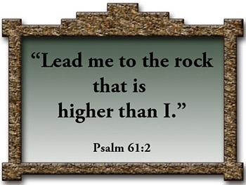 CORNER*3:16*STONE FAITH BASES JESUS IS THE ROCK