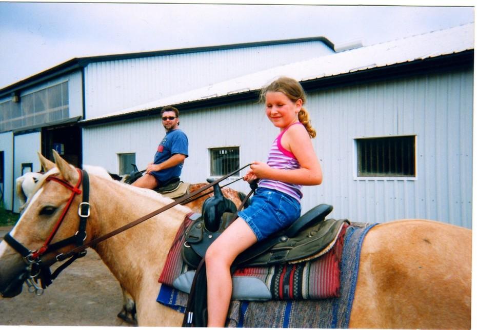 CTFO WORLD ANIMALS BASE SARAH & ME HORSE BACKING PHOTO