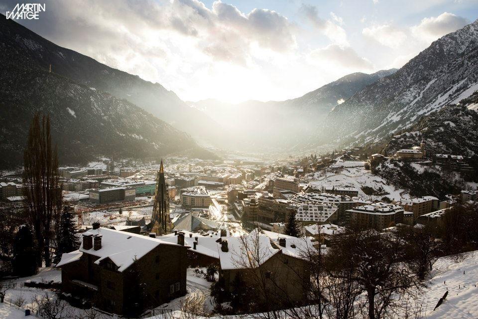 Andorra: La llegada