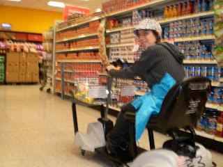 Viaje a México 2010; Centro comercial y Walmart