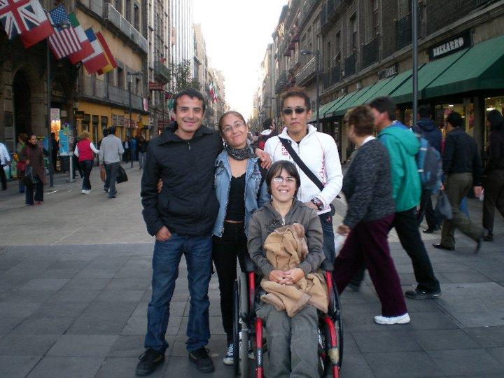 Viaje a México 2010; Linda y Leonardo