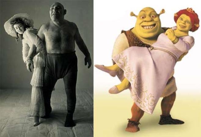 ¿Sabías que Shrek si existió?: Esta es la emotiva historia de Maurice Tillet, el Shrek de la vida real