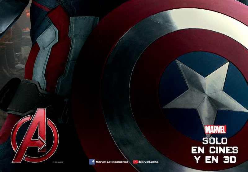 Liberan imagen del Capitán América en los Vengadores: La era de Ultron
