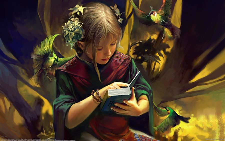El arte de leer y los niños
