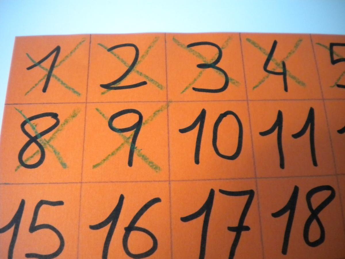 Poesia: Tachando días del calendario