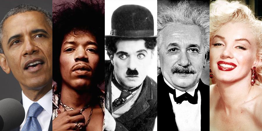 23 personajes famosos que son zurdos